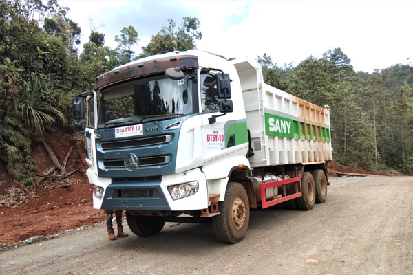 Proses Pengangkutan ore