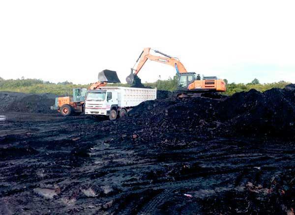 Coal Getting Stockyard