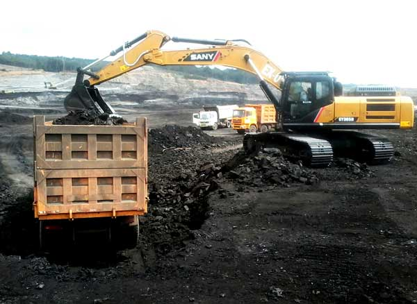 Coal Getting Pit